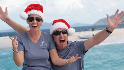 BVI Christmas and New Years Yacht Charters