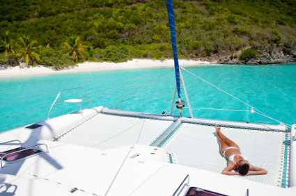 crewed yacht charter costs