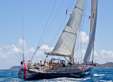 monohull sailboat crewed yacht charters